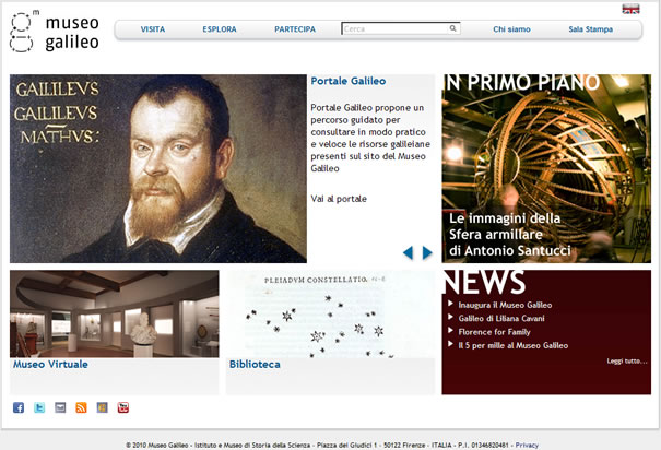 Museo Galileo Firenze.Institute And Museum Of The History Of Science Florence Italy